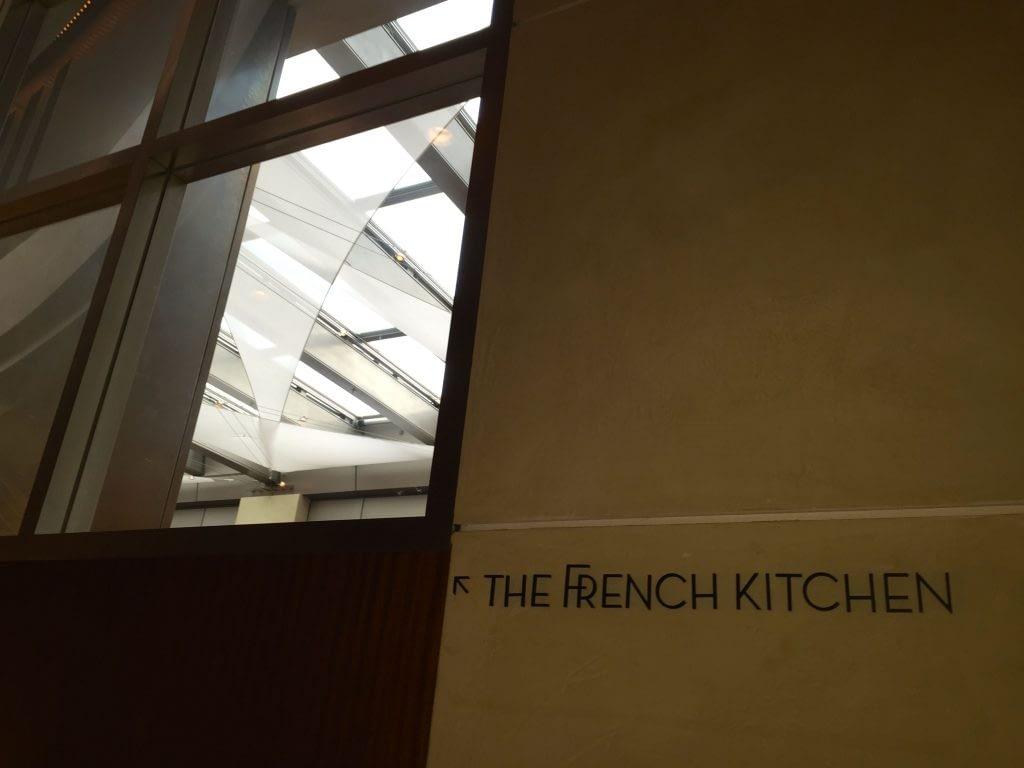 Sign for the French Kitchen, Grand Hyatt Tokyo, Roppongi Hills, Japan