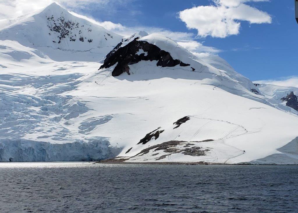 Silversea Hikers, Neko Harbor, Antarctica