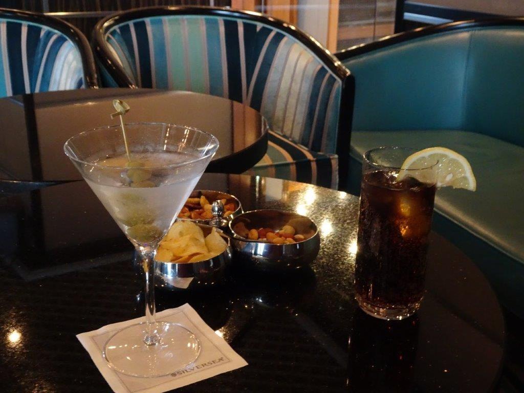 Drinks Before Dinner, Silversea Cruises, Drake Passage, Antarctica