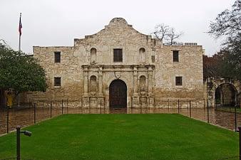 Front Entrance Alamo, San Antonio, Texas