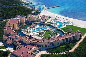 Aerial View Looking East, Hacienda Tres Rios, Playa del Carmen, Mexico