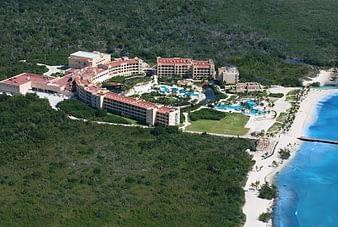 Aerial View Looking Northeast, Hacienda Tres Rios, Playa del Carmen, Mexico