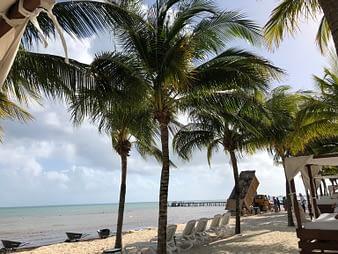 Beach Repair, Hacienda Tres Rios, Playa del Carmen, Mexico