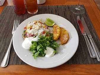 Breakfast, Hacienda Tres Rios, Playa del Carmen, Mexico