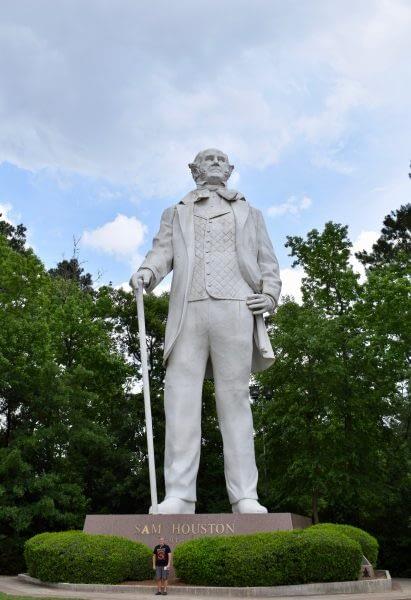 Paul, Sam Houston Statue, A Tribute to Courage, David Adickes, Houston, Texas