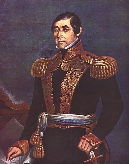 Fructuoso Rivera by Baldassare Verazzi, Uruguay