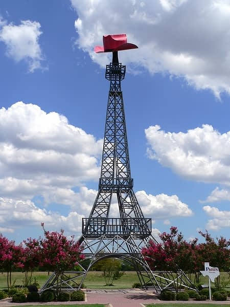 Eiffel Tower of Texas and Cowboy Hat, Paris, Texas