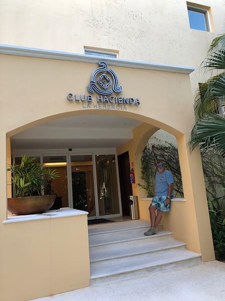 Paul, Club Hacienda, Hacienda Tres Rios, Playa del Carmen, Mexico