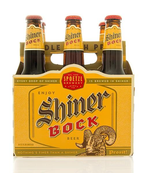 Six Pack of Shiner Bock, Spoetzl Brewery, Shiner, Texas