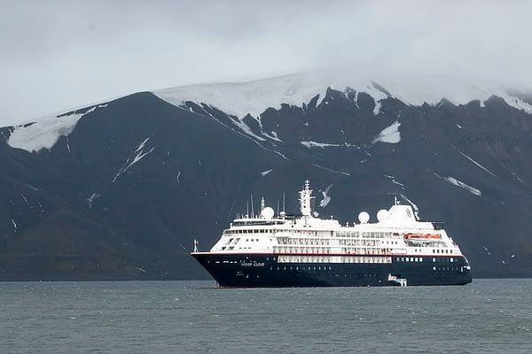 Silversea Cruise Ship Antarctica ocean expedition
