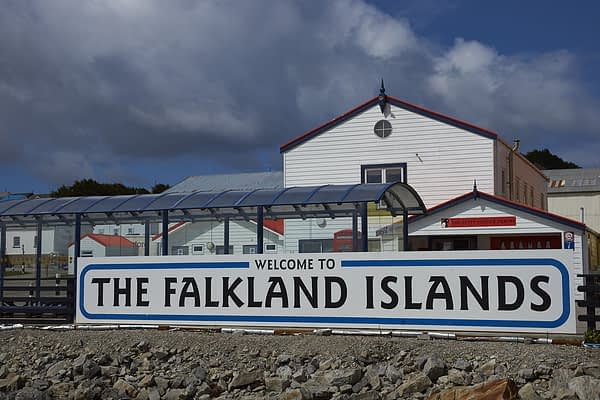 Visitors Jetty, Stanley, Falkland Islands, Antarctica