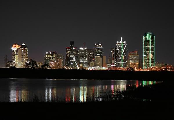 Night Skyline, Dallas, Texas