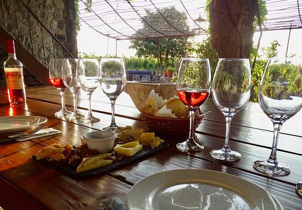 Wine Tasting, Narbona, Carmelo, Uruguay