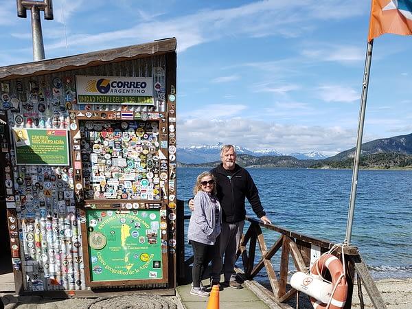 Madeline and Paul, Ushuaia, Argentina