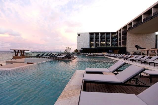 Pool, Grand Hyatt, Playa Del Carmen, Mexico