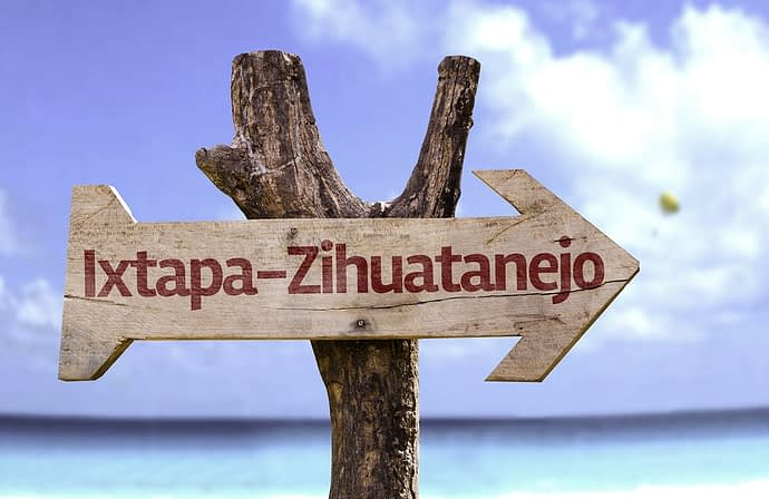 Sign, Ixtapa Zihuatanejo, Mexico