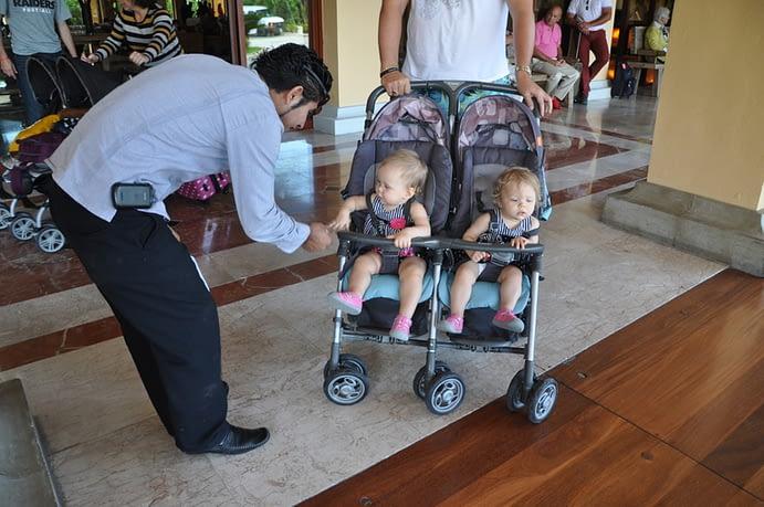 Twins and Staff, Hacienda Tres Rios, Playa del Carmen, Mexico