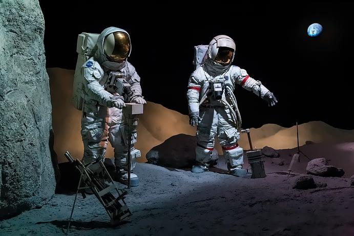 Astronauts, Lyndon B. Johnson Space Center, Houston, Texas