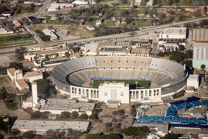 Cotton Bowl Stadium, Dallas, Texas