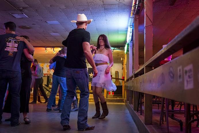Country Music Dancing, Broken Spoke, Austin, Texas