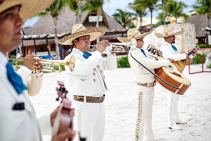 Mariachi Band, Cancun, Mexico