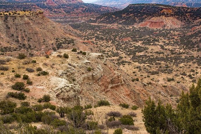 Panhandle Plains Region, Palo Duro Canyon State Park, Texas