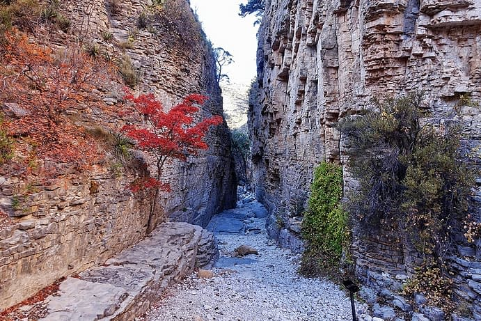 Devil's Hall, Guadalupe Mountains National Park, Texas