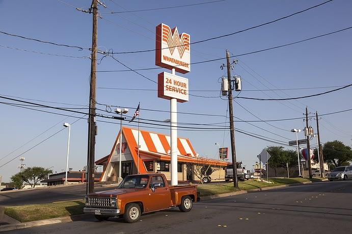 Whataburger Restaurant, Texas