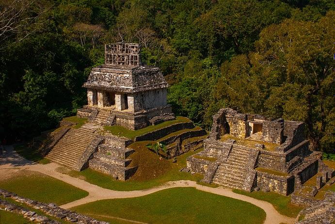 Ancient Mayan Complex, Palenque, Chiapas, Mexico