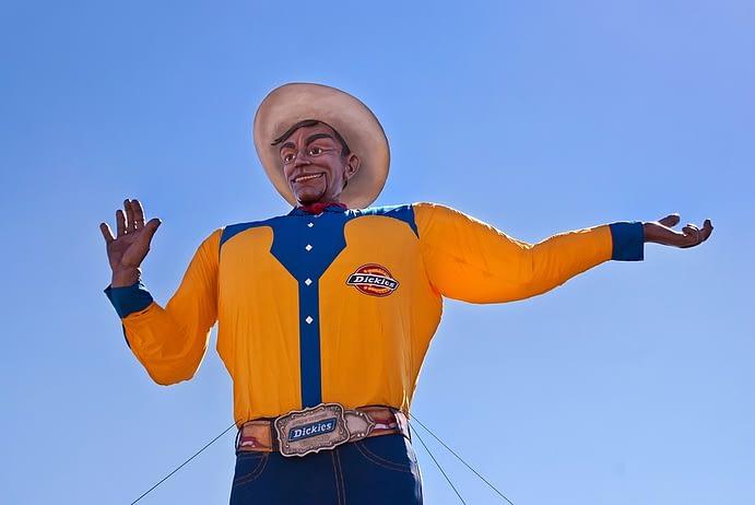 Big Tex, Texas State Fair, Dallas, Texas