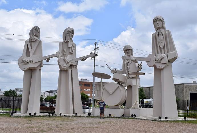 Paul, Beatles Statues, David Adickes, Houston, Texas