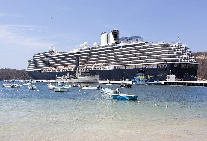 Cruise Ship, Huatulco, Mexico