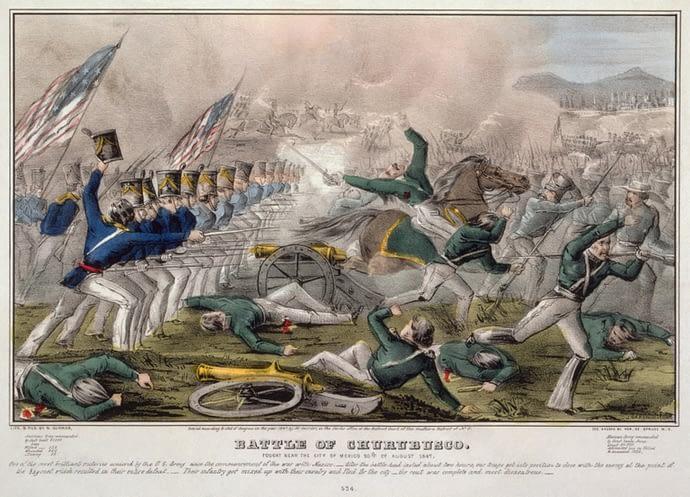 Battle Of Churubusco, Mexican-American War, 1847