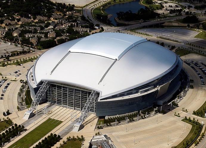 AT&T Stadium, Home of the Dallas Cowboys, Arlington Texas