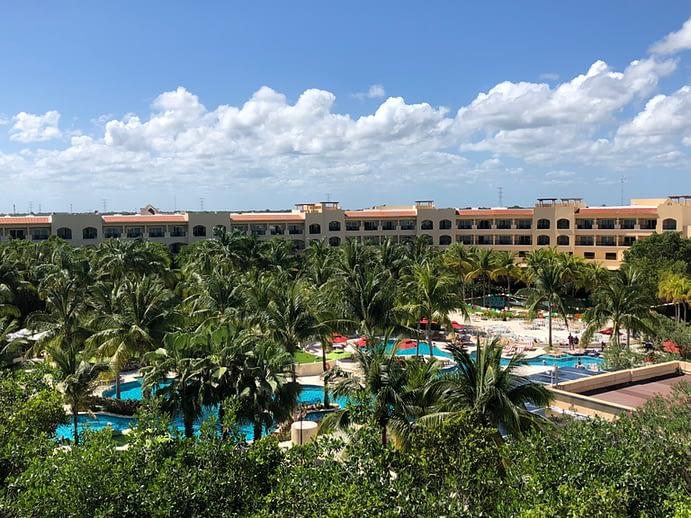 View From Balcony, Hacienda Tres Rios, Playa del Carmen, Mexico