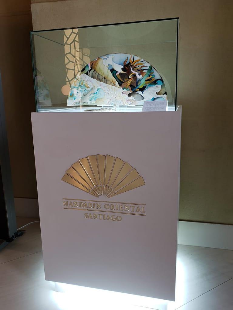Lobby Artwork, Mandarin Oriental Hotel, Santiago, Chile