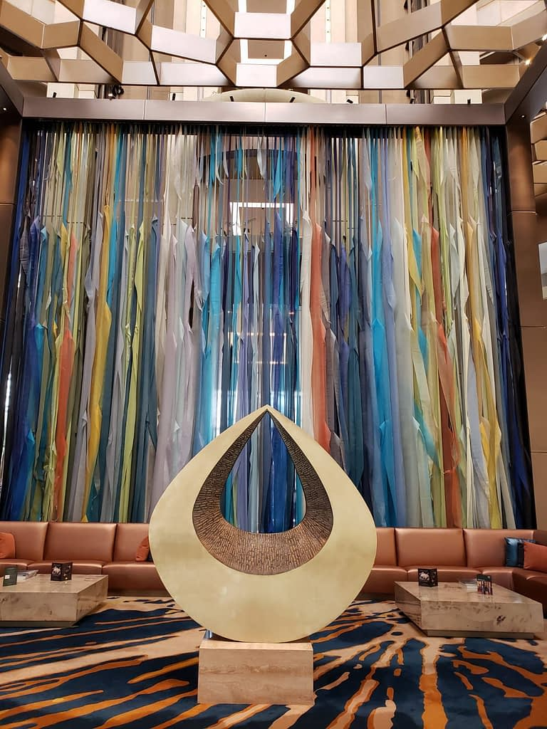 Lobby, Mandarin Oriental Hotel, Santiago, Chile