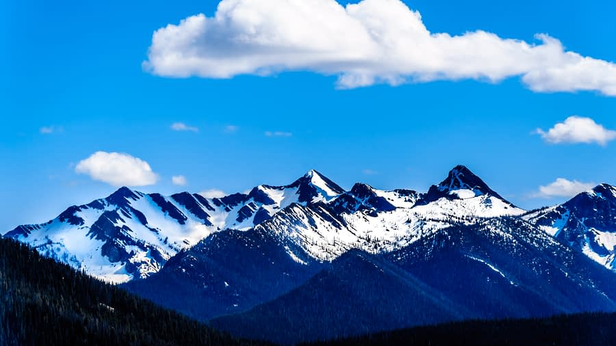 The Cascade Mountain Range, Manning Provincial Park, British Columbia, Canada