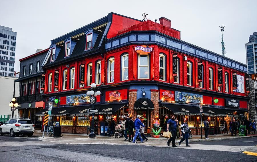 Old Buildings, Ottawa, Canada