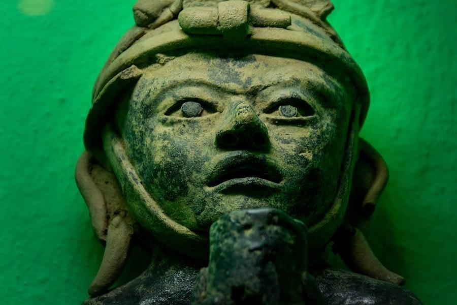 Prehispanic Art at Rufino Tamayo Museum, Oaxaca, Mexico