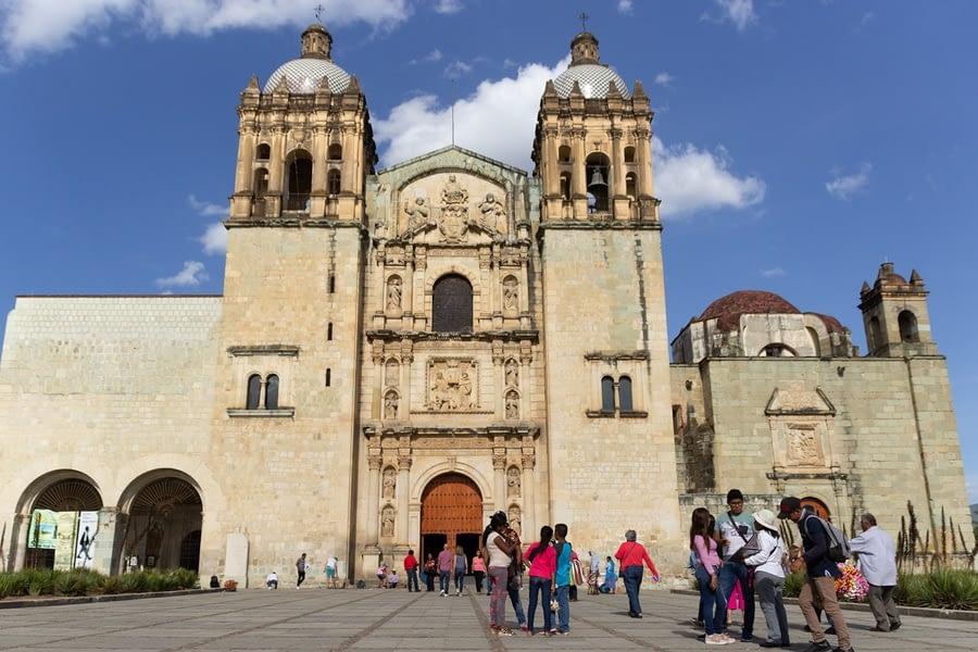 Santo Domingo Temple, Oaxaca, Mexico