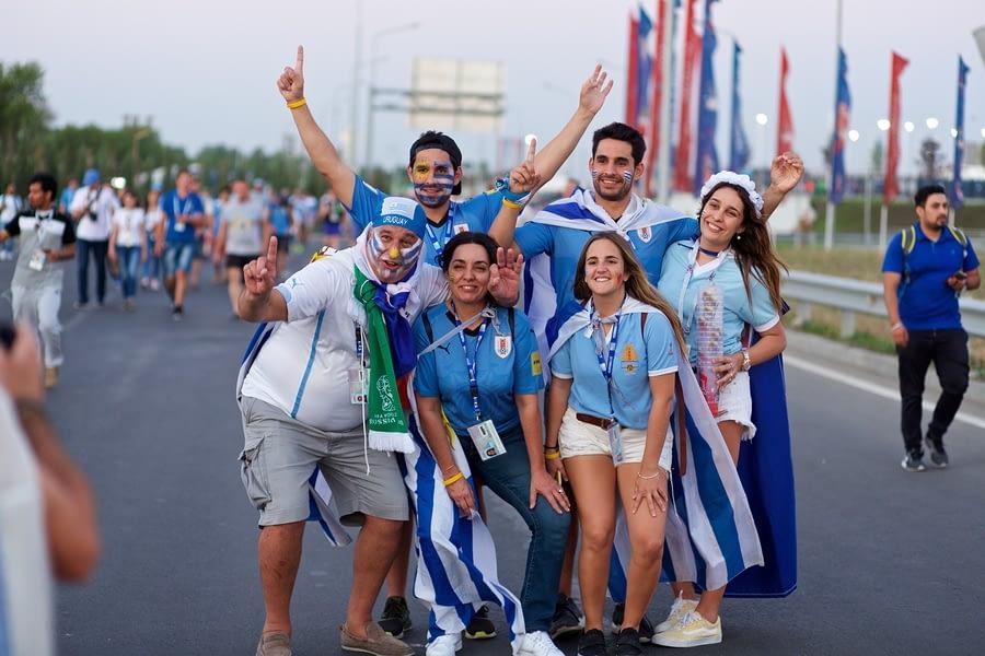Soccer Fans Uruguay