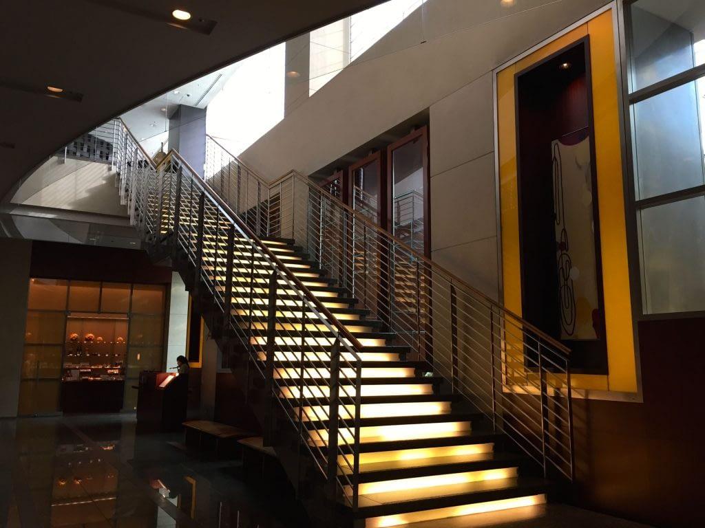 Stairway, The French Kitchen, Grand Hyatt Tokyo, Roppongi Hills, Japan