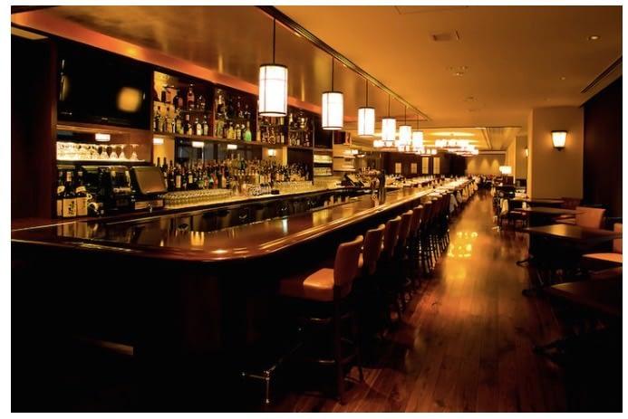 Bar, Wolfgangs Steakhouse Restaurant, Roppongi, Tokyo, Japan