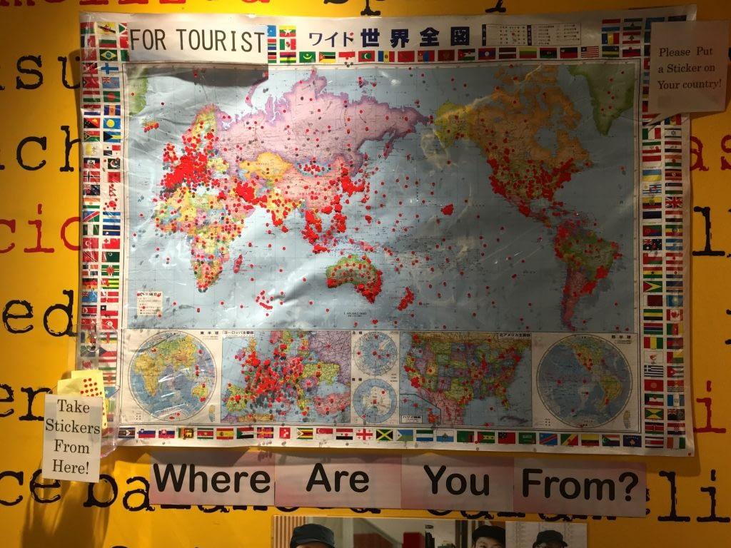 McDonalds Asking Where We Are From At Shibuya Tokyo Japan