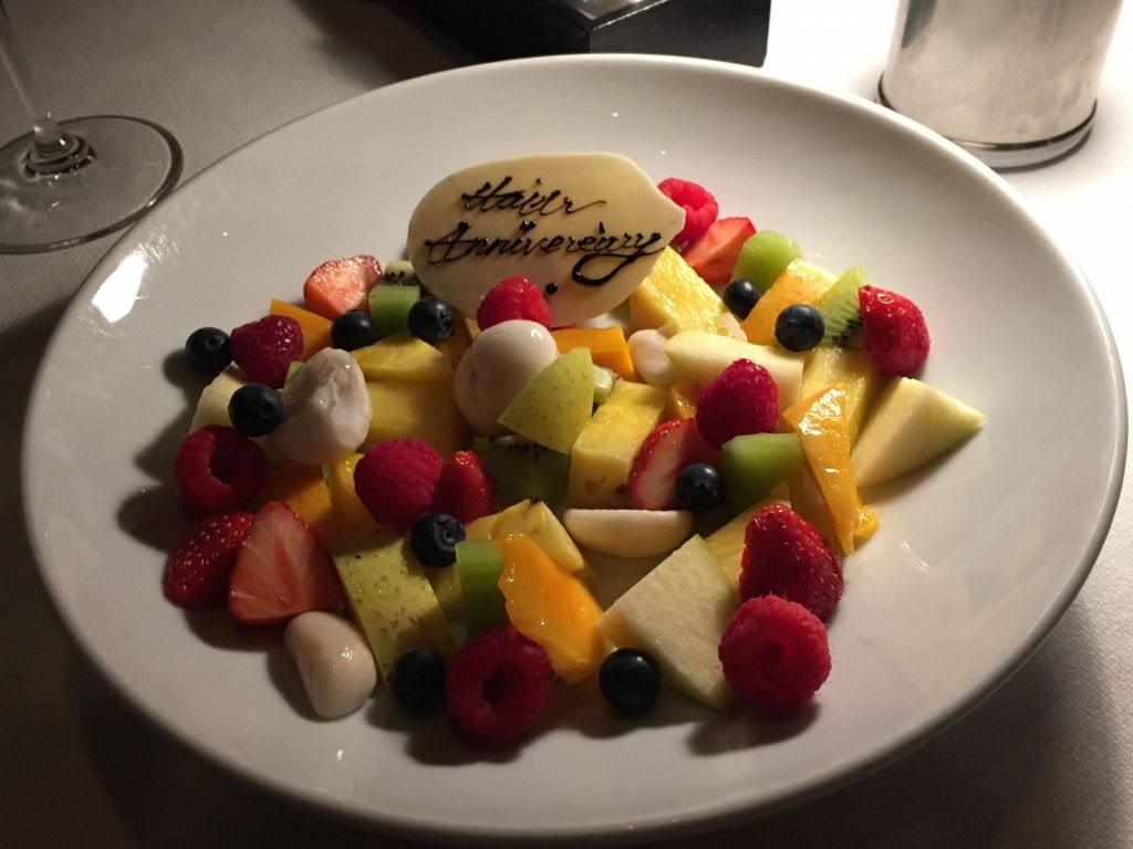 Anniversary Dessert, The Oak Door, Grand Hyatt Tokyo, Roppongi Hills, Japan