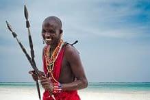 Maasai Warrior Tanzania Dar Es Salaam, Africa