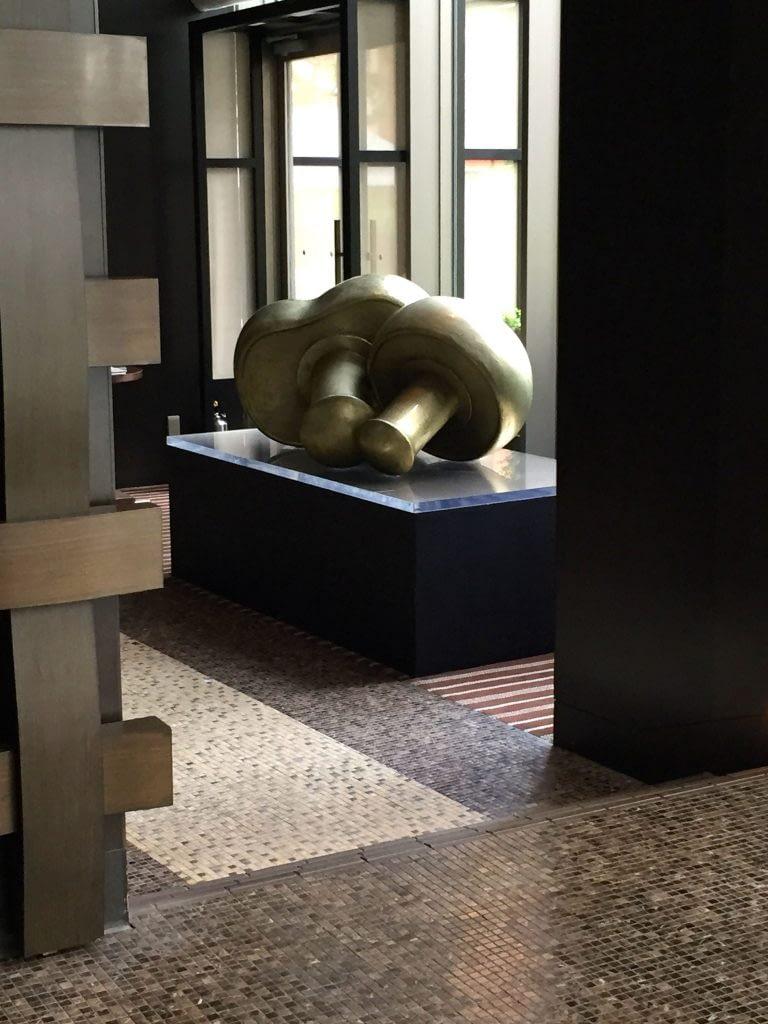 Mushroom Sculpture, The French Kitchen, Grand Hyatt Tokyo, Roppongi Hills, Japan