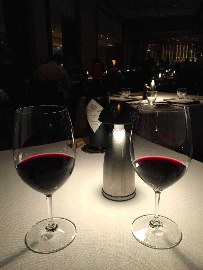 Wine Glasses, The Oak Door, Grand Hyatt Tokyo, Roppongi Hills, Japan