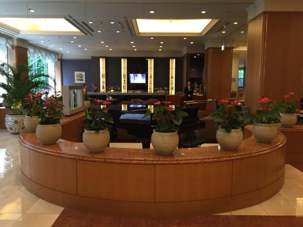 Fontaine Bar Seating, Royal Park Hotel Tokyo, Japan